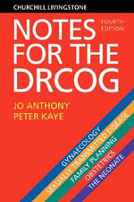 Notes for the DRCOG - Jo Anthony