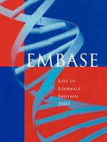 Embase List of Journals 2003 - Embase