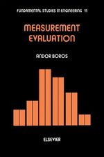 Measurement Evaluation - A. Boros