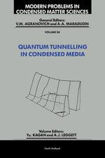 Quantum Tunnelling in Condensed Media