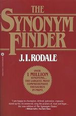 The Synonym Finder - J.I. Rodale