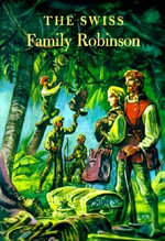 The Swiss Family Robinson : Illustrated Junior Library - Johann David Wyss