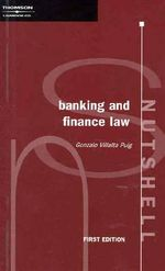 Banking and Finance Nutshell - Gonzallo Puig Villalta
