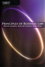 Principles of Business Law - Jean Du Plessis