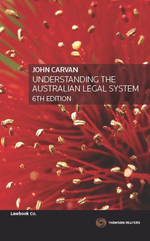 Understanding the Australian Legal System - John Carvan