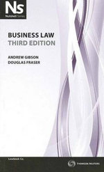 Nutshell : Business Law : 3rd Edition (for Australia) - Bishop Gibson