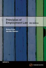 Principles of Employment Law - Rohan Price