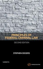 Principles of Federal Criminal Law - Stephen Odgers