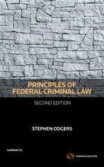 Principles of Federal Criminal Law - Stephen Odgers