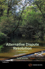 Alternative Dispute Resolution - Tania Sourdin