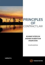 Principles of Contract Law : 4th Edition - Jeannie Paterson
