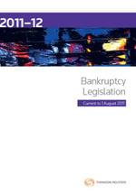 Bankruptcy Legislation 2011-2012