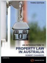 An Introduction to Property Law in Australia : 3rd Edition - Robert Chambers