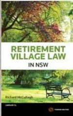 Retirement Village Law in NSW - Richard McCullagh