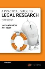A Practical Guide to Legal Research - Jay Sanderson