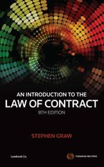 An Introduction to the Law of Contract - Stephen Graw