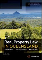 Real Property Law in Queensland - Anne Wallace