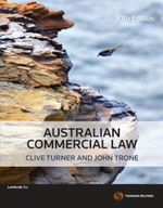 Concise Australian Commercial Law - Clive Turner