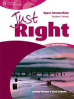 Just Right Upper Intermediate : Workbook - Carol Lethaby