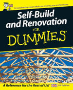 Self Build And Renovation For Dummies - Nicholas Walliman