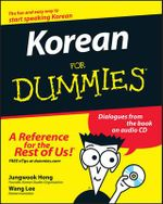 Korean For Dummies : For Dummies - Jungwook Hong
