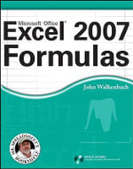 Excel 2007 Formulas : Mr. Spreadsheet's Bookshelf - John Walkenbach