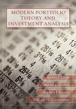 Modern Portfolio Theory and Investment Analysis : Theory and Analysis 7E - Edwin J. Elton