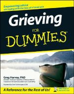 Grieving For Dummies - Greg Harvey