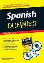 Spanish For Dummies Audio Set with Book : For Dummies - Jessica Langemeier