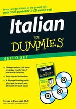Italian For Dummies Audio Set - Teresa L. Picarazzi