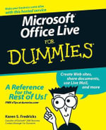 Microsoft Office Live For Dummies - Karen S. Fredricks