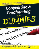 Copyediting & Proofreading For Dummies : Illustrated  - Suzanne Gilad