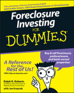 Foreclosure Investing For Dummies - Joseph Kraynak
