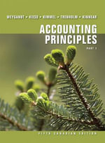 Accounting Principles : Part 1 - Jerry J. Weygandt
