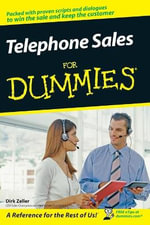 Telephone Sales For Dummies - Dirk Zeller