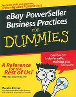eBay PowerSeller Business Practices For Dummies : For Dummies - Marsha Collier