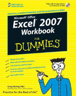 Excel 2007 Workbook For Dummies : For Dummies (Lifestyles Paperback) - Greg Harvey