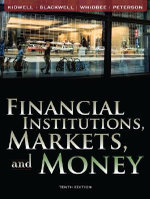 Financial Institutions, Markets, and Money : European Edition - David S. Kidwell