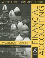 Financial Accounting : Working Papers - Jerry J. Weygandt
