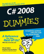 C# 2008 for Dummies - Stephen R. Davis