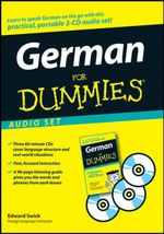 German For Dummies Audio Set : For Dummies - Edward Swick