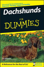 Dachshunds For Dummies, 2nd Edition - Eve Adamson