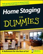 Home Staging For Dummies : 3rd Edition - Christine Rae