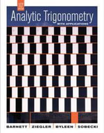 Analytic Trigonometry with Applications :  Test Bank - Raymond A. Barnett
