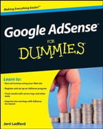 Google AdSense For Dummies - Jerri L. Ledford