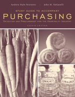 Purchasing : Selection and Procurement for the Hospitality Industry Study Guide - Andrew H. Feinstein