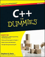 C++ For Dummies, 6th Edition - Stephen R. Davis