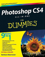 Photoshop CS4 All-In-One For Dummies : For Dummies (Lifestyles Paperback) - Barbara Obermeier