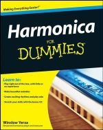 Harmonica For Dummies With CD : Lesson Book Level 1 - Winslow Yerxa