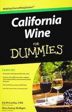 California Wine For Dummies - Ed McCarthy